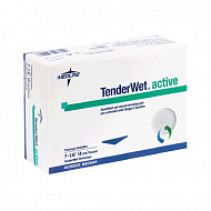 Повязка круглая TenderWet 24 active 4.0 см. 10 шт.