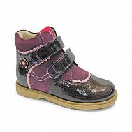 5c4452634 Ботинки ортопедические Твики утепленные для девочек TW-319 т.фиолетовые